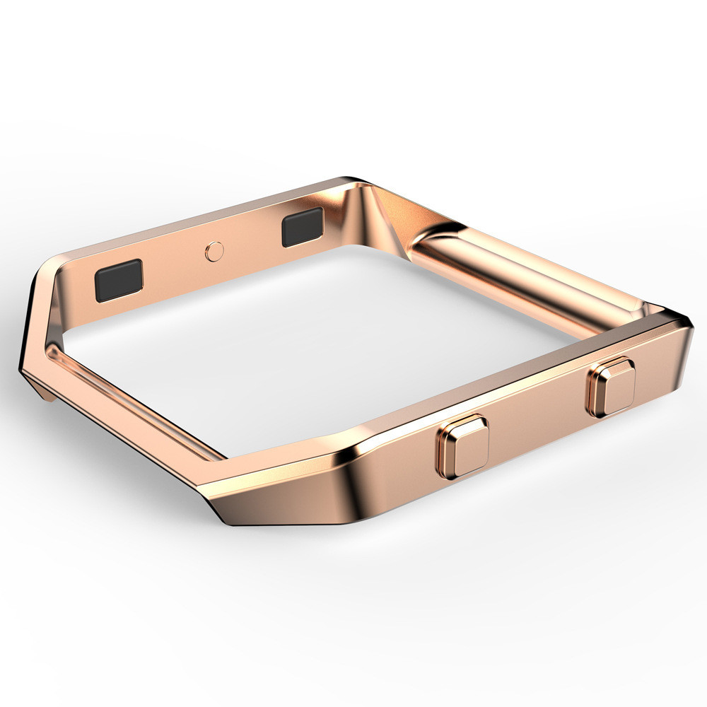 Metal bumper watch case ,smart case cover for Fitbit watch