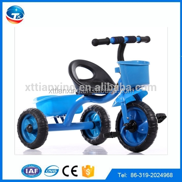 2015 Alibaba wholesale China factory direct plastic 3 wheel kid trike bicycle tuk tuk for sale