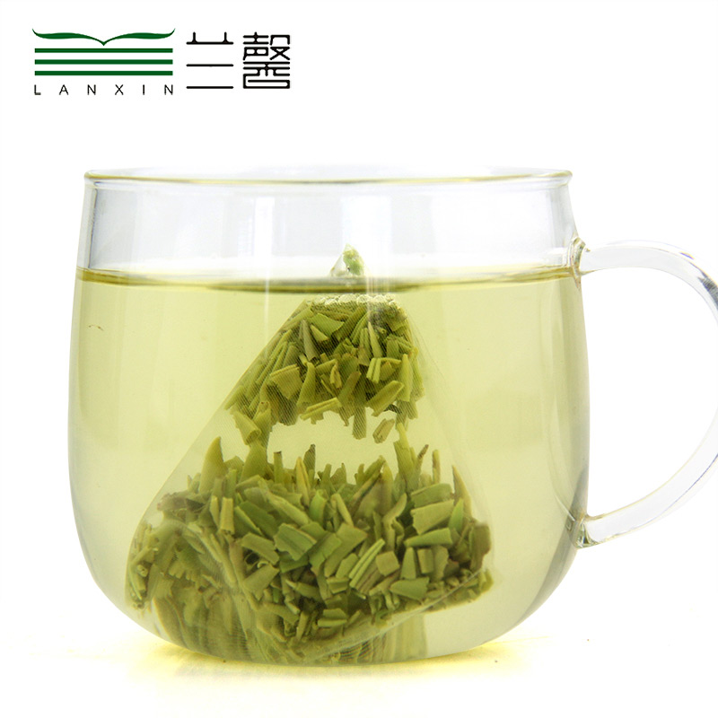 Fresh Queshe Small Pieces Green Tea In Tea Bag