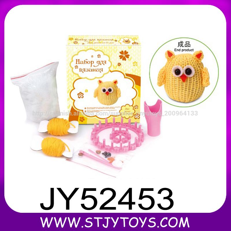 Los niños hechos a mano del juguete juguete lana tejer patrón de los ...