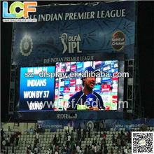 China estadio pantalla led p10 lcf led video wall