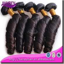 Fine and smooth Original brazilian human hair extensions wet and wavy weave