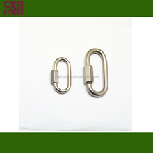 stainless steel quick link,stainless steel snap hook, stainless steel link chain for outdoor link chain