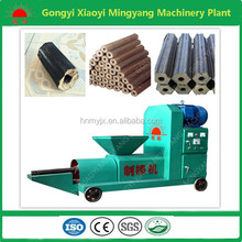 No binder No pollution wheat husk charcoal briquette making machine screw press extruding machinery plant008613838391770