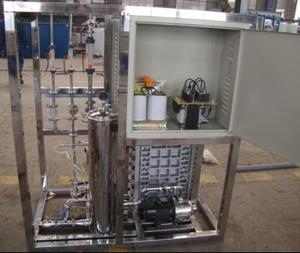 500L Double Stage RO Water Treatment +EDI Plant