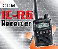IC-R6 Communication Portable Receiver (Original)