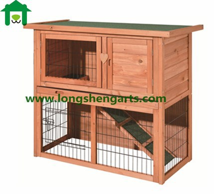 Wholesale outdoor wooden Rabbit Cage