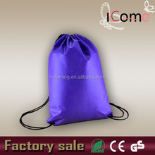 Hot selling_ Cheap Eco 80gsm Non Woven Fabric Drawstring Bags(ITEM NO:D150242)