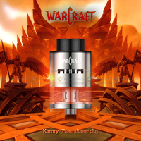 Authentic kamry RDTA stainless steel 2ml kamry RTDA tank electronic cigarette with factory wholesale price