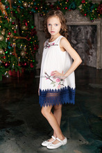 fashion boutique kids baby party wear girl skirt dress
