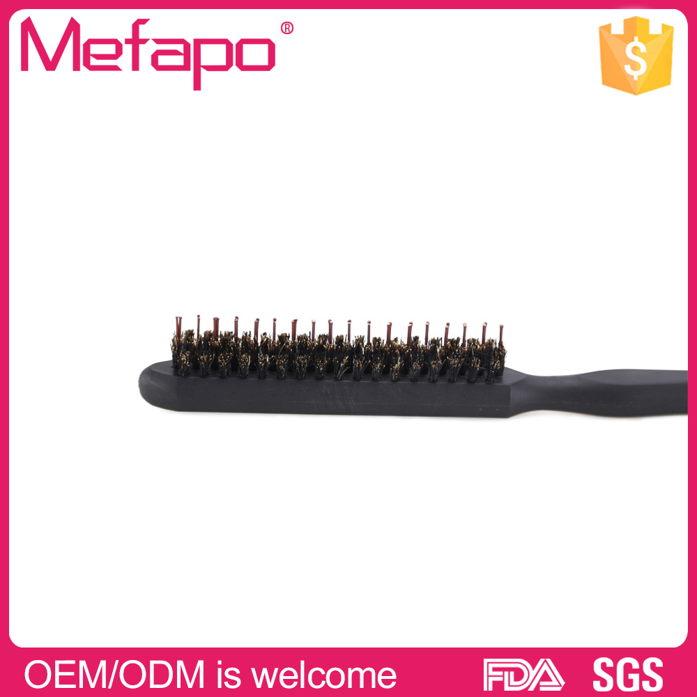 Mefapo wholesale high quality natural bakalite boar bristle barber brush