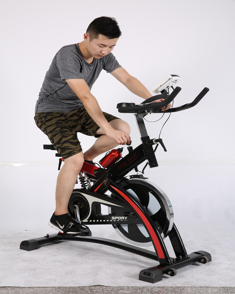 CJ-1903 life fitness gym equipment commercial Spinning Bike for light commercial use or home use
