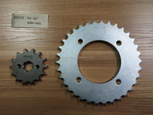 South America Market BIZ 125 transmission chain Sprocket kits