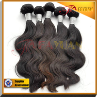 Cheap human hair wigs Brazilian body wave weave hair in Guangzhou