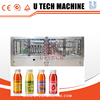 Automatic Juice PET Bottle Normal Pressure Hot Filling Machine, 3-in-1 Unit