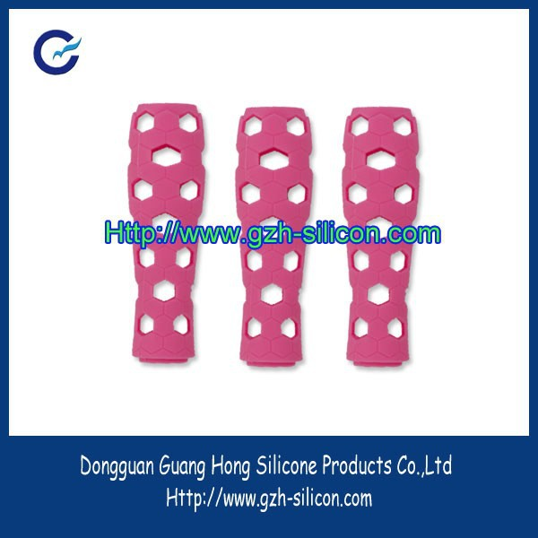 Customized silicone rubber handle protective accessories for Grooming tool handle made in Guangdong