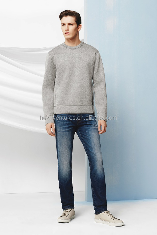 fashion straight fit men's denim jeans manufacturer order