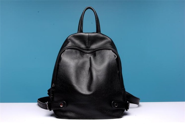 Newly women genuine leather backpack high quality leisure fashion backpack bag for Lady