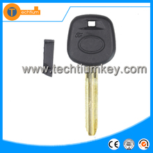 2 Buttons Modified Flip Remote Key Shell Case Car Key Blank for Toyota Corolla,Vios,RAV4 3D Carbon Fiber Sticker