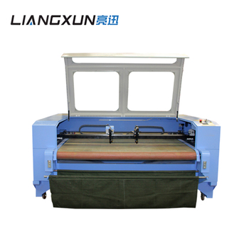 Automatic water cooling 80W 100W home fabric textile laser cutting machine for sale