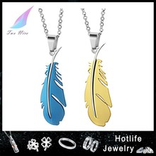country fashion trends bijuteria leaf pendant for lover