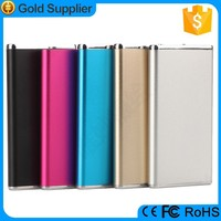 3.7v li polymer battery ultra slim 6000mah ferrari power bank for channel