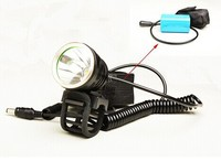 10W Super Bright Multifunction Rechargeable MTB Bike Light With 4pcs Battery