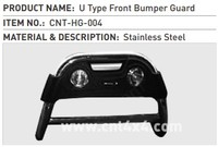 SUV Car Front Bull bar / Bumper Guard WITH LIGHT for Universal