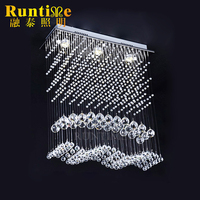 Modern classical Flush Mount Crystal Ceiling Lamp with gu10 RT3544-3
