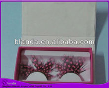 2013 premium free fake eyelashes natural eyelashes feather eyelashes