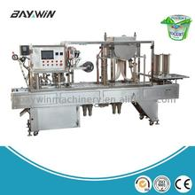 Most Popular food Tray mini cup sealing machine in china milk tray for plastic