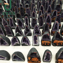 Wholesale natural brazil amethyst geode home decoration amethyst geodes