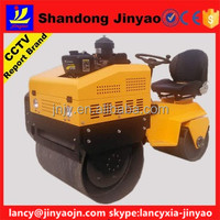 easy control ride on road roller, diesel double drums roller with WHITE pump, convenient road roller to use