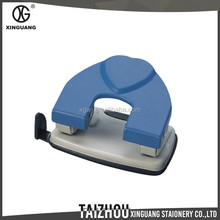 High quality Cold-rolled steel blue 2 holes paper hole punch tool