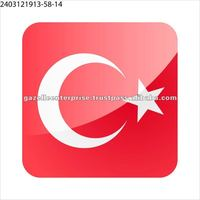 Temporary Tattoo Stickers - Turkish Flag - 0907121103