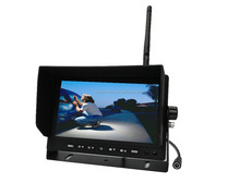 "Waterproof Wireless SONY CCD 7"" car monitor with infrared night vision"