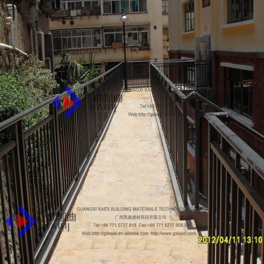 Solide Galvanised Steel Modern Railings Banisters