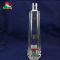 Competitive price customized ukrainian vodka sealed bottle custom
