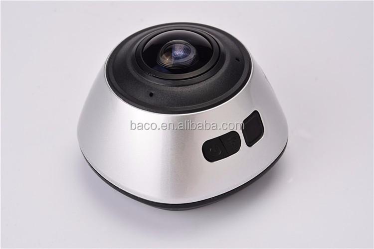 full HD1080P sport action camera 360 degree panoramic vr camera