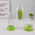 china mlife double wall fruit infuser bottle tritan bpa free with stocked