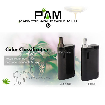 Super mini cbd vape mod 15w TC adjustable sub ohm mod for thick oil vaping