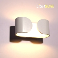 CE UL hotel bedsid wall light & shell shaped wall lights & exterior metal wall lights