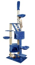 Widely used superior quality wood cat tree natural, cat tree wooden, arbre chat