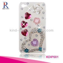 Hot Sell Creative With Rhinestone Phone Cace For iphone 5