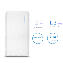 New Promotional Power Bank 5000 mAh Mini Power Bank Mobile Charger