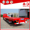 40ft Flatbed Container Semi Trailer Truck
