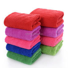 custom wholesale plush cleaning microfiber towel / dog dog cleaning microfiber towels / microfiber cleaning cloth 24 pack