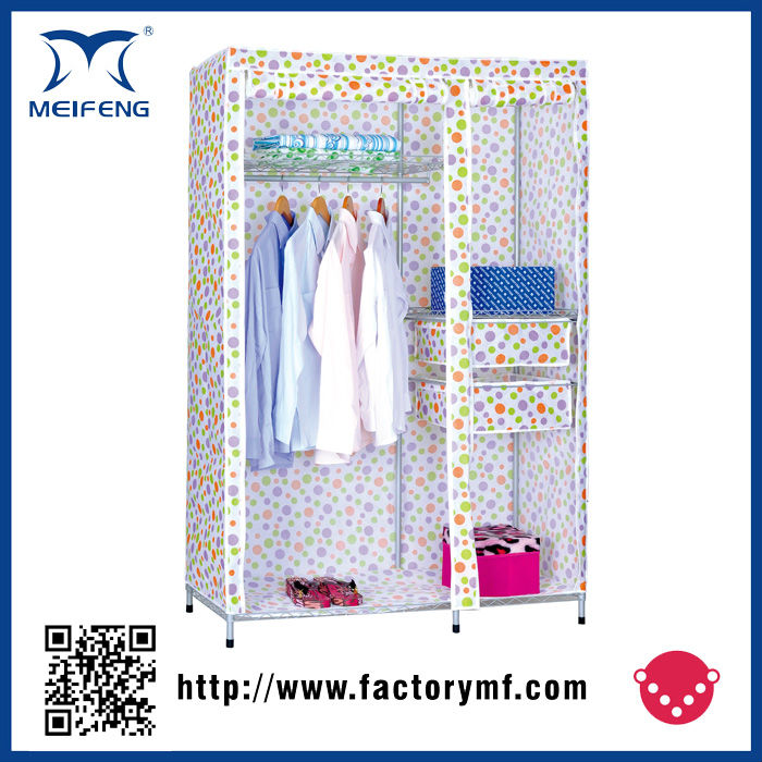 Meifeng Sale Portable Steel Metal Clothes Closet