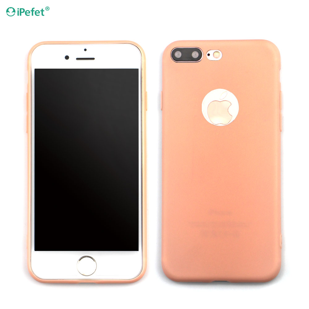 Best Sell High Quality Ultra Thin Candy Colors TPU Phone Case For iPhone 7 Plus
