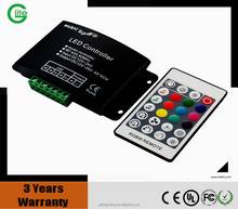 Led light RGBW AUDIO controller & RF controller with 24Keys